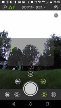 360Fly 4K Review: App Screenshot 2