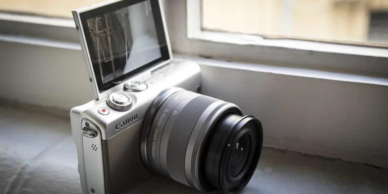 Kết quả hình ảnh cho Canon EOS M100 Review