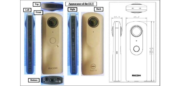 First images of Ricoh Theta V posted online