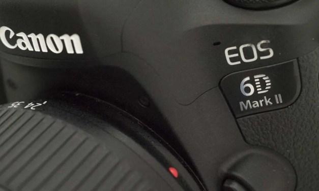 New Canon firmware fixes EOS 6D II button glitches
