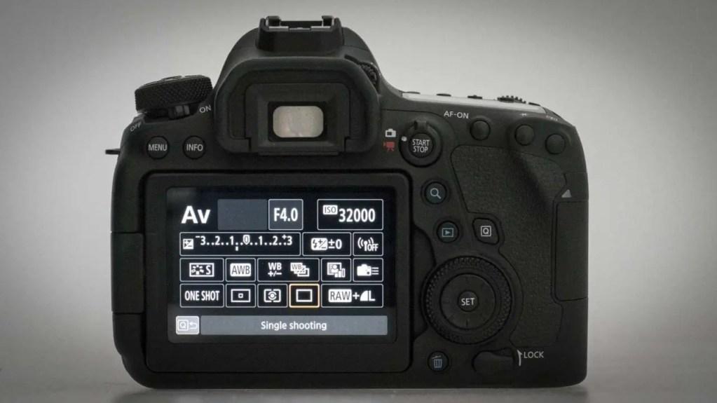 Canon EOS 6D Mark II Review: Quick Menu