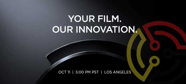 Is DJI announcing the 'future of aerial cinematography' on 11 October?