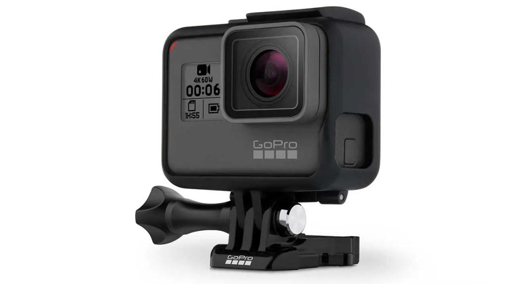 GoPro Hero 6 Black on mount