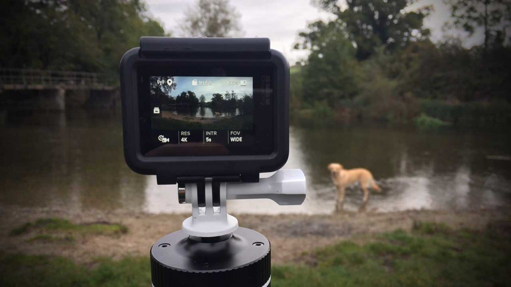 How to shoot a time lapse video with a GoPro Hero 6 Black Step 04