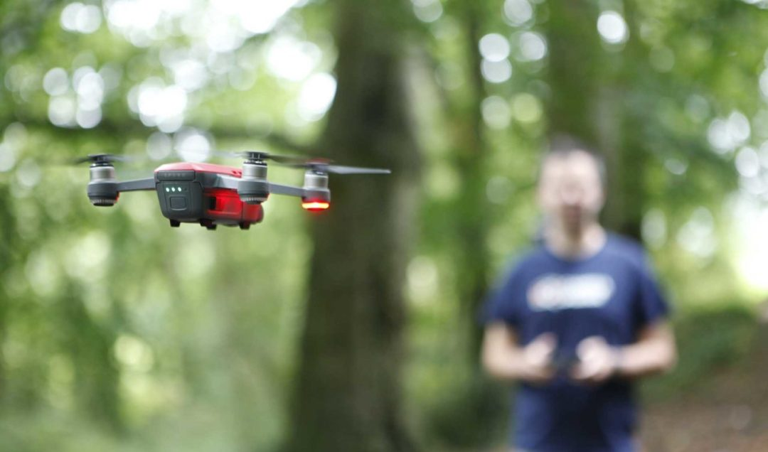 How to fly the DJI Spark using its flight controller