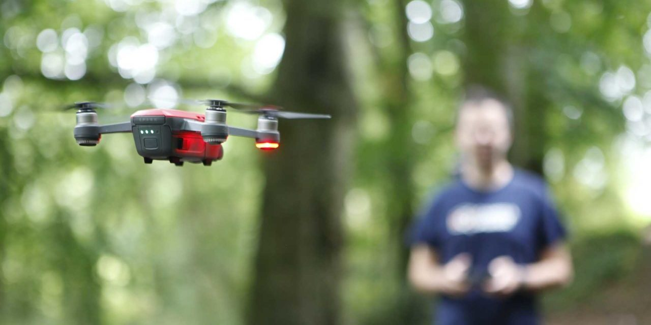 How to fly the DJI Spark using its remote controller