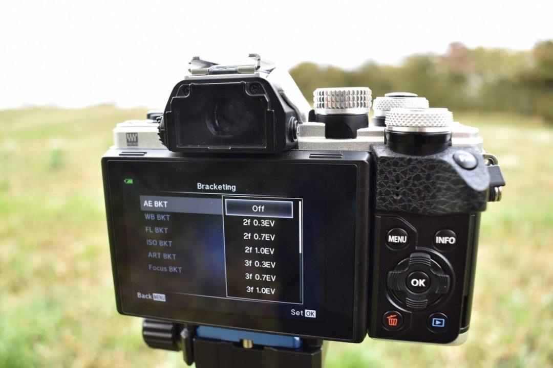 How to set up exposure bracketing on your camera