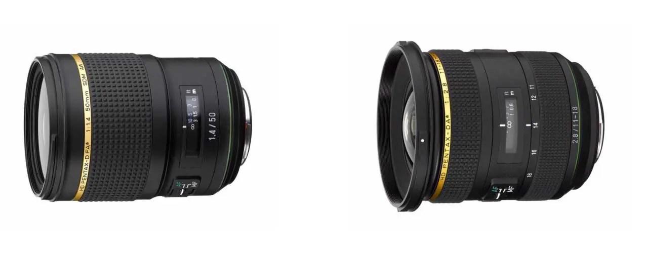 Ricoh launches HD PENTAX-D FA 50mm f/1.4 SDM AW, 11-18mm f/2.8 ...