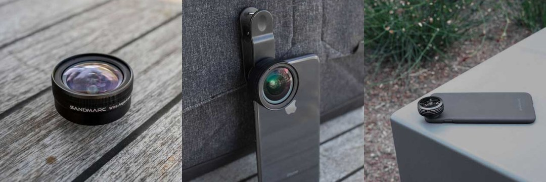 Sandmarc launches trio of high-end lenses for iPhone