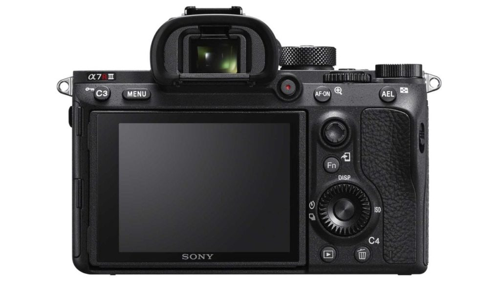 Sony A7R III Review: Camera back