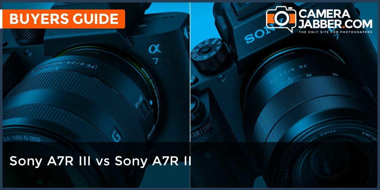 Sony A7R III vs Sony A7R II