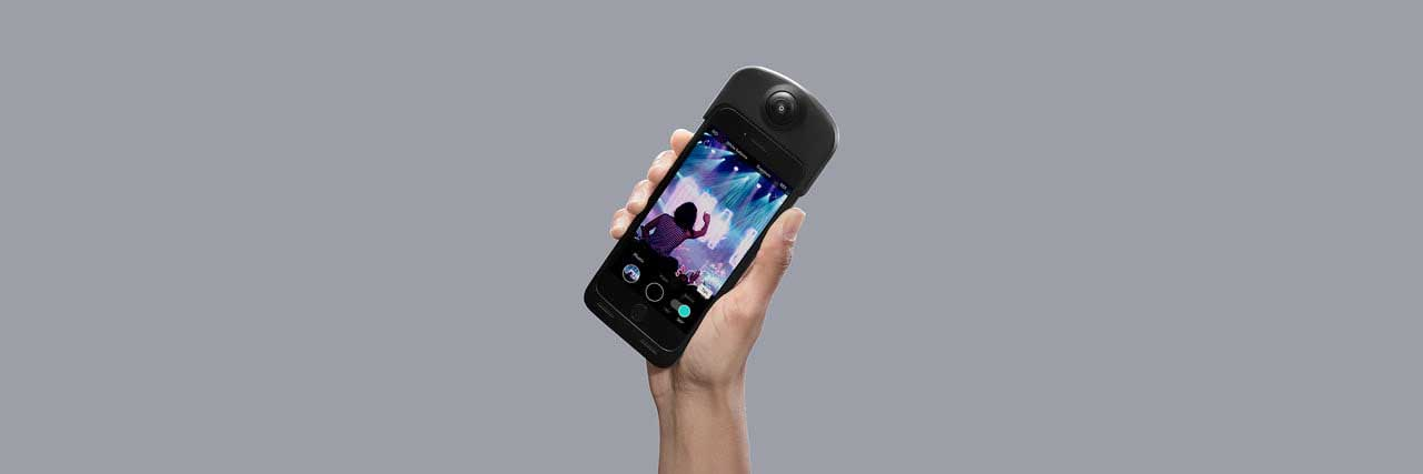 ION360 launches smartphone case that doubles as a 360 camera