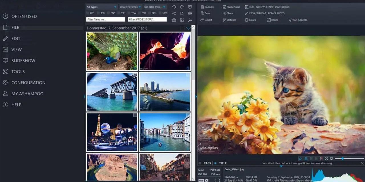 Ashampoo launches Photo Commander 16 software, cuts price in half