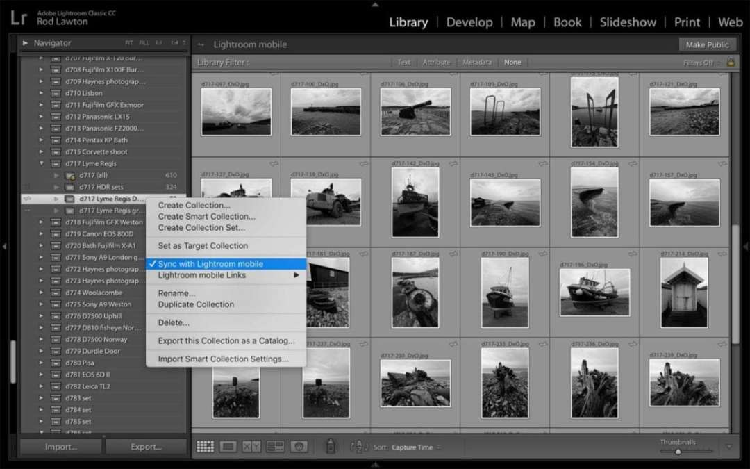 Lightroom Classic Review: Synchronising your photos via the cloud
