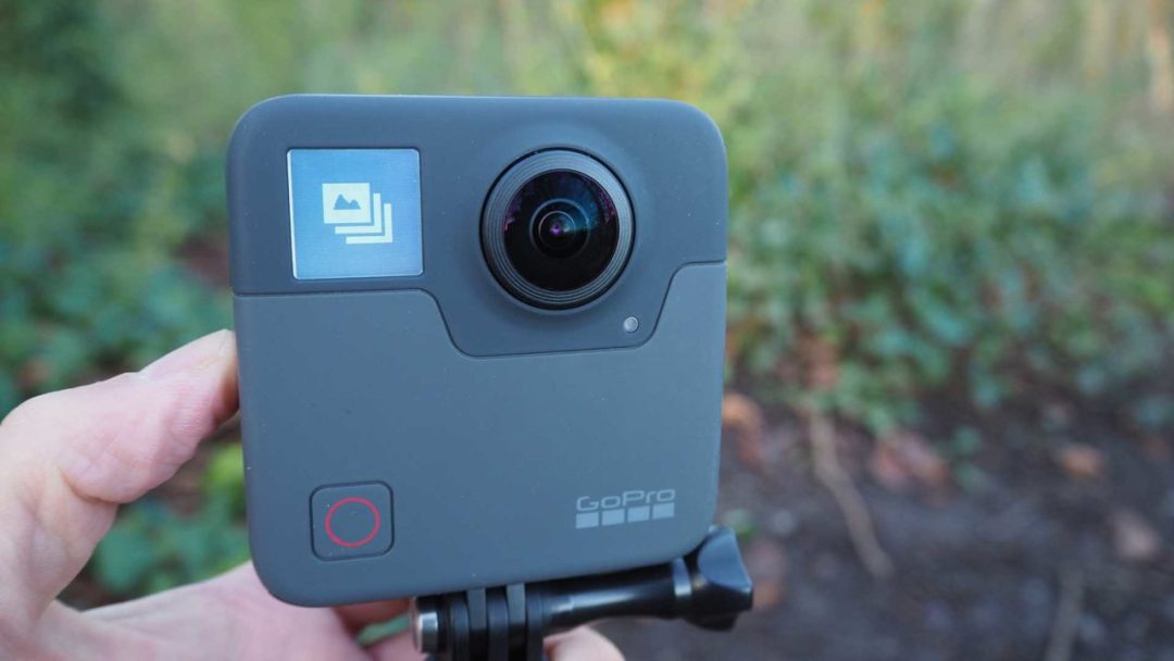 Setting up the GoPro Fusion to shoot 360 photos