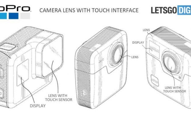 GoPro patents new camera lens with touch sensor