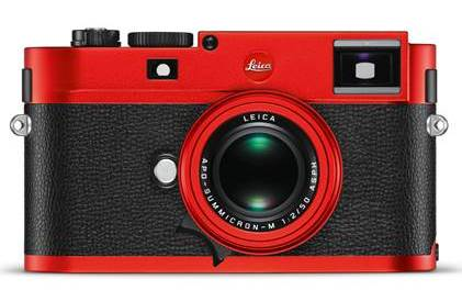 Leica unveils special red anodized edition M Camera