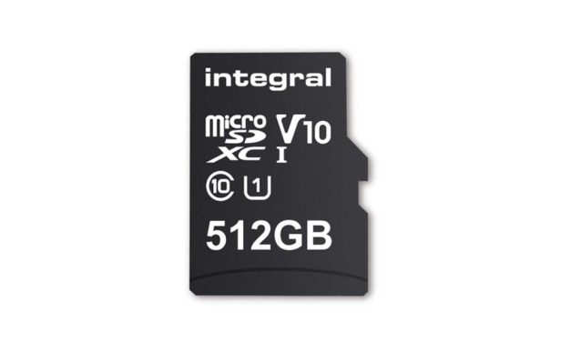 Integral launches world's biggest microSD card at 512GB