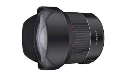 Samyang debuts AF 14mm f/2.8 EF for Canon cameras