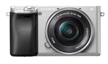 Sony debuts silver version of A6300