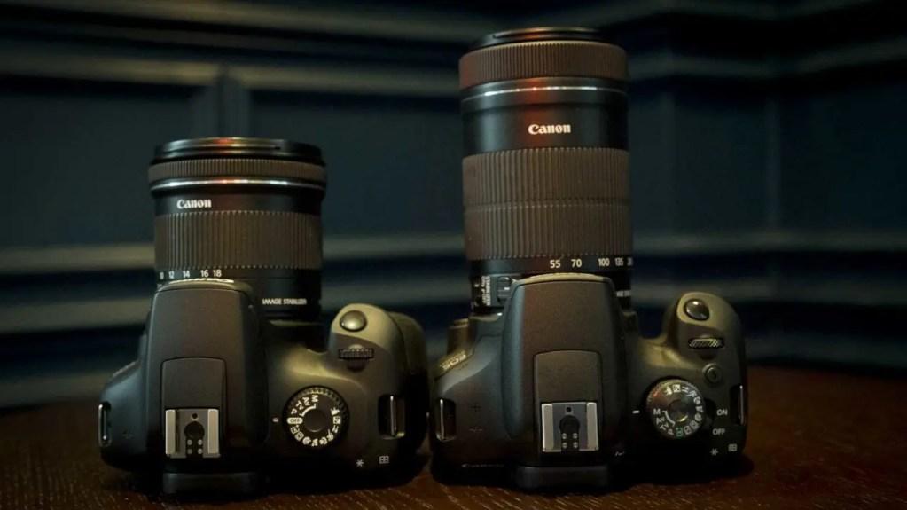 Canon EOS 2000D / T7 vs 4000D / T100