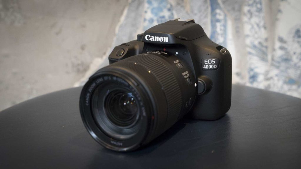 Canon EOS 4000D / Rebel T100 product shot