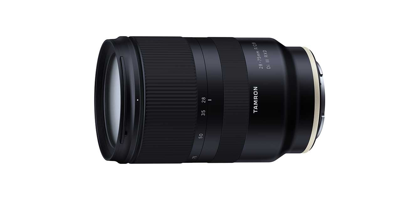 Tamron announces 28-75mm f/2.8 Di III RXD lens for FF mirrorless cameras