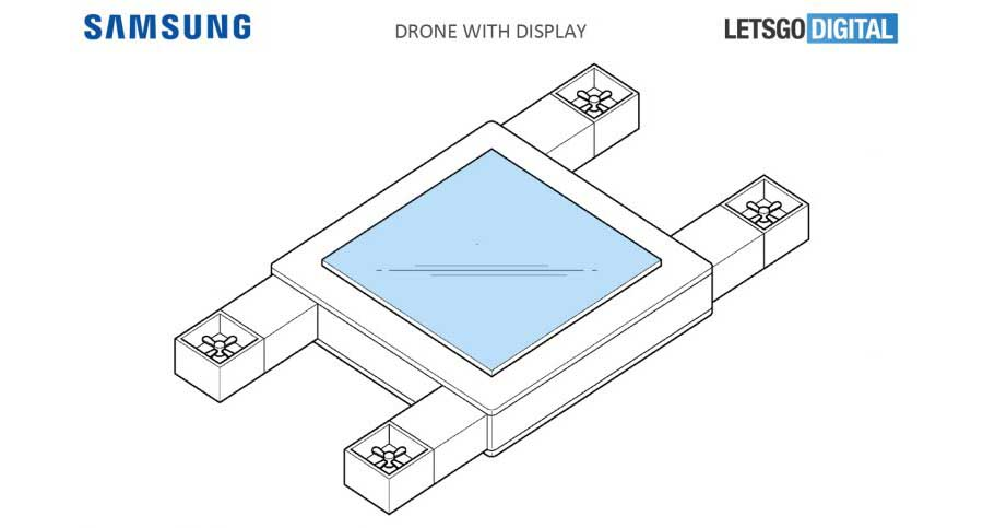 Samsung patents a flying display that's controlled by your eyes