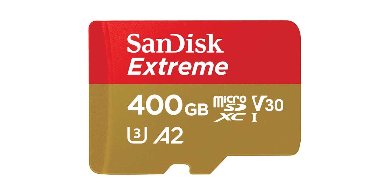 WD launches 400GB SanDisk Extreme UHS-I microSD card