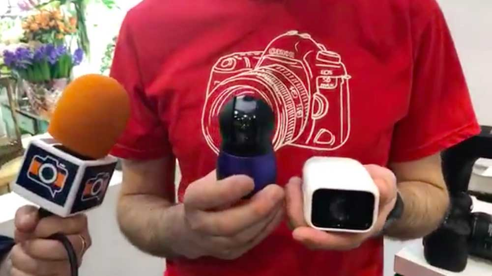 Canon shows off 360, AI-driven concept cameras at The Photography Show 2018