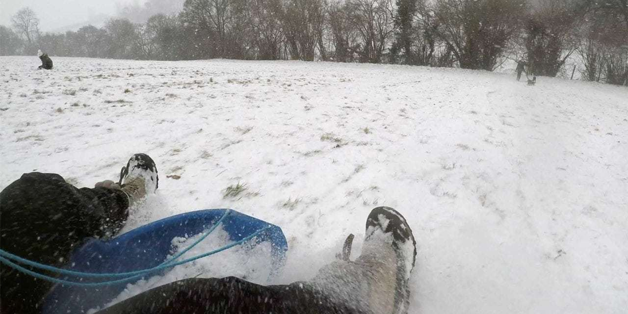 How to GoPro Sledding: Tips for Videoing Fun in the Snow