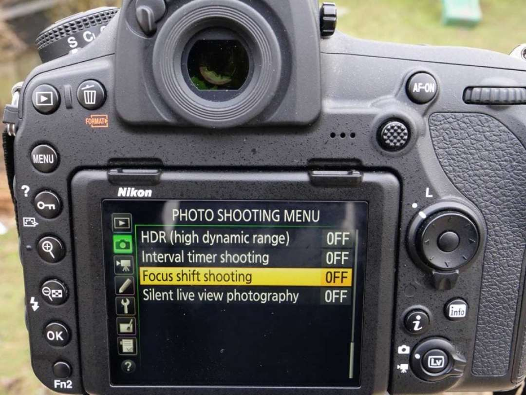 How to set up Focus Shift on the Nikon D850
