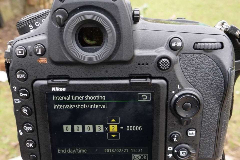 nikon d850 timelapse tutorial how to set up interval shooting and
