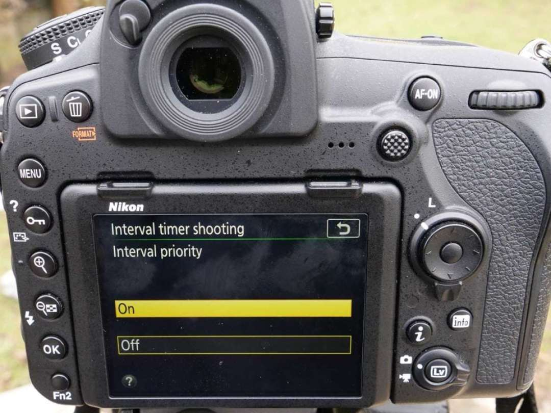 Nikon D850 timelapse tutorial: Interval Priority