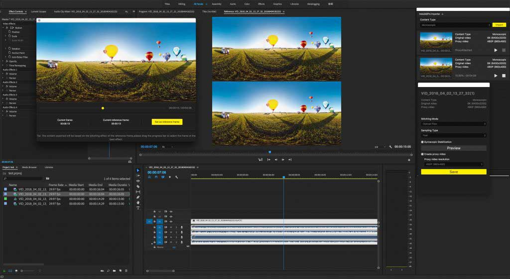 Adobe, Insta360 partner to add 360 editing tools to Premiere Pro CC