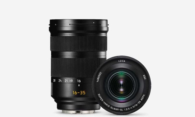 Leica launches Super-Vario-Elmar-SL 16–35mm f/3.5–4.5 ASPH. ultra-wide angle zoom