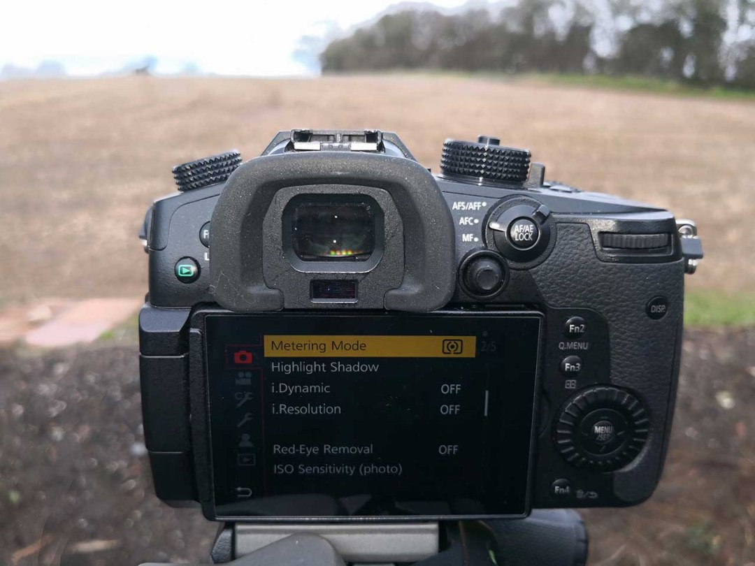 What are my camera's metering modes?