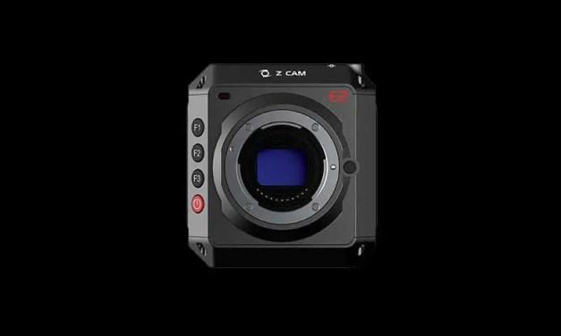 Z Cam E2 Micro Four Thirds cinema camera records 4K at 120fps