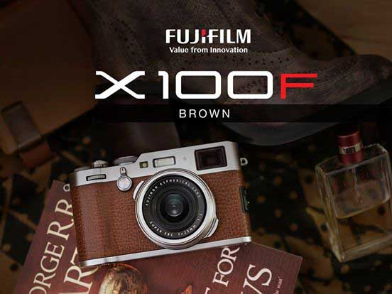 Fujifilm to release brown leather version of X100F