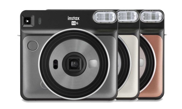 Fujifilm announces SQ6, the first square format analog Instax camera