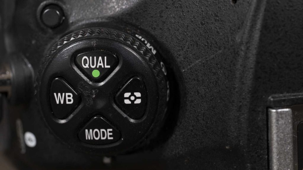 How to set-up Nikon D850 for the first time: Mode button