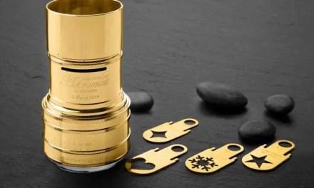 Lomography releases Gold Plated Daguerreotype Achromat f/2.9/64 Art Lens