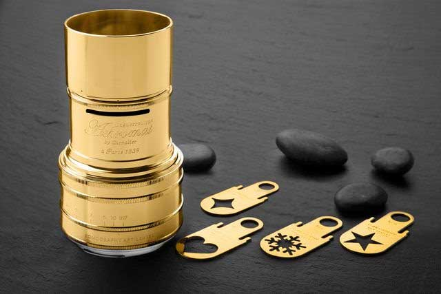 Lomography releases Gold Plated Daguerreotype Achromat f/2.9/64 Art Lens