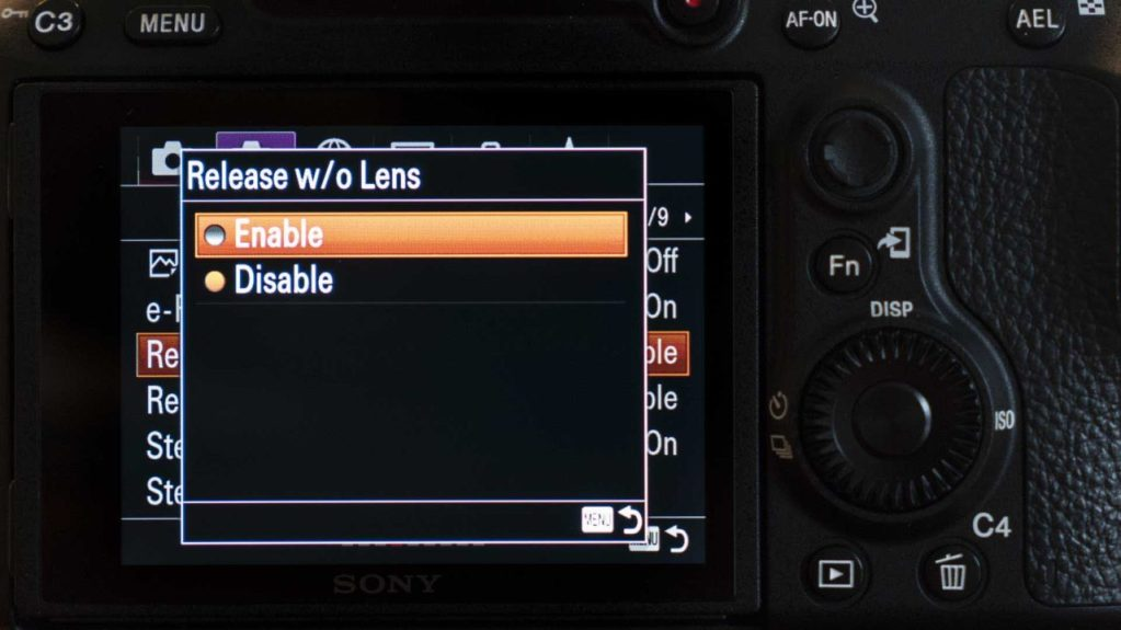 How to use the Lensbaby Burnside on the Sony A7 III