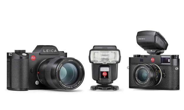 Leica unveils SF 60 flash, SF C1 remote control