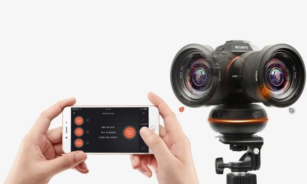 App-controlled Capsule360 motion box moves your camera as you move your smartphone