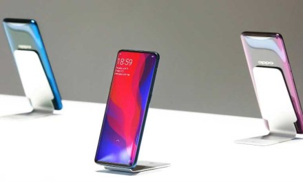 Oppo Find X smartphone boasts pop-up camera