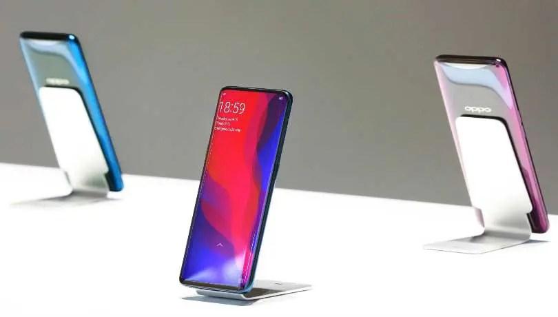 Oppo Find X smartphone boasts pop-up camera