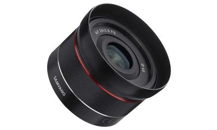 Samyang announces AF 24mm f/2.8 FE lens for Sony E Mount