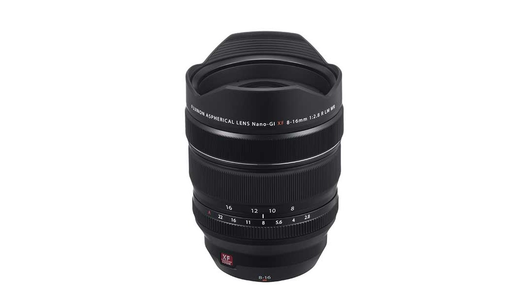Fujifilm announces Fujinon XF8-16mmF2.8 R LM WR lens